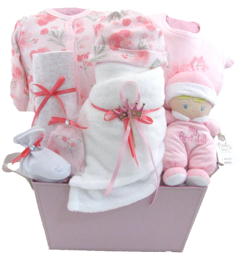 Baby Gift Baskets Vancouver : Glamorous baby princess glitter gift baskets