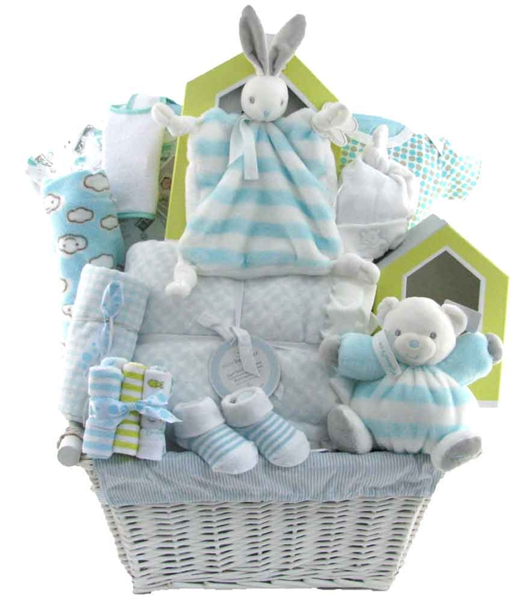 Baby Gift Baskets Boots : Deluxe kaloo treasure glitter gift baskets
